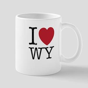 I Love WY Wyoming Mug