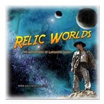 Relic Worlds Square Car Magnet 3