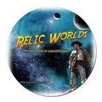 Relic Worlds Round Car Magnet