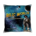 Relic Worlds Everyday Pillow
