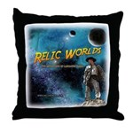 Relic Worlds Throw Pillow