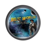 Relic Worlds Wall Clock