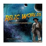 Relic Worlds Tile Coaster
