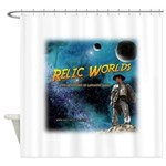 Relic Worlds Shower Curtain