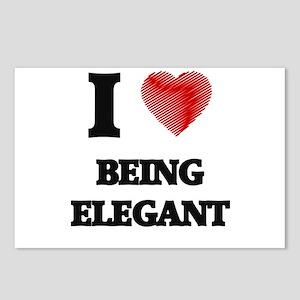 Being Elegant Postcards (Package of 8)