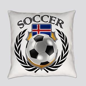 Iceland Soccer Fan Everyday Pillow