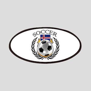 Iceland Soccer Fan Patch