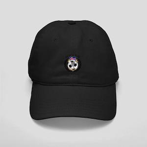 Iceland Soccer Fan Black Cap