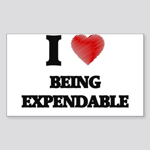 Being Expendable Sticker