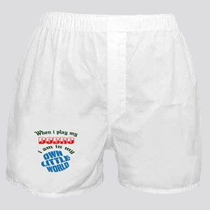 When i play my Dobro I'm in my own li Boxer Shorts