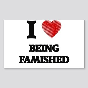 Being Famished Sticker