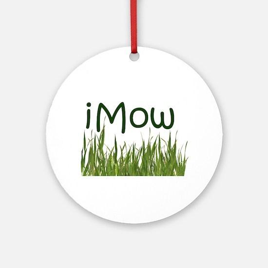 iMow Round Ornament