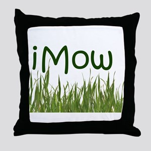 iMow Throw Pillow