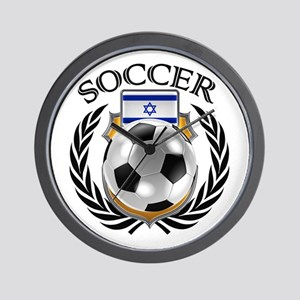 Israel Soccer Fan Wall Clock
