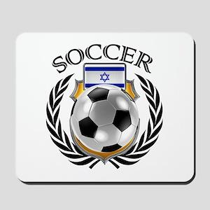 Israel Soccer Fan Mousepad