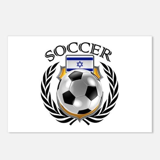 Israel Soccer Fan Postcards (Package of 8)