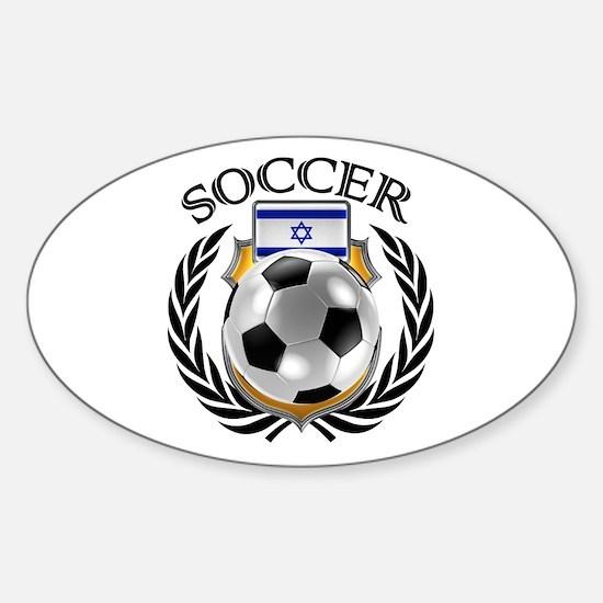 Israel Soccer Fan Decal