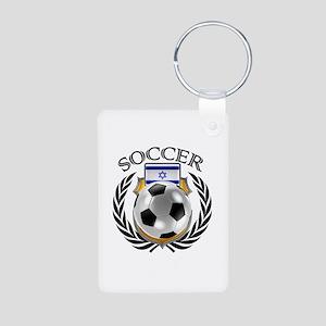 Israel Soccer Fan Keychains