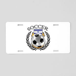 Israel Soccer Fan Aluminum License Plate