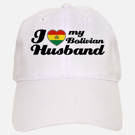 I love my Bolivian Husband Baseball Baseball Cap