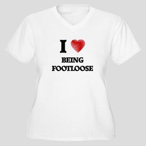 Being Footloose Plus Size T-Shirt