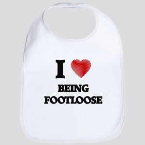 Being Footloose Bib
