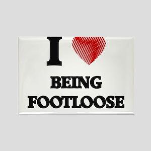 Being Footloose Magnets