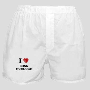 Being Footloose Boxer Shorts