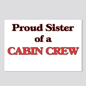 Proud Sister of a Cabin C Postcards (Package of 8)