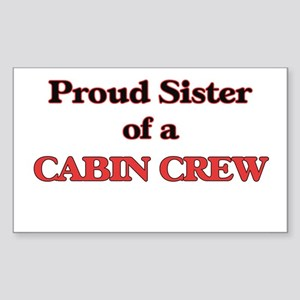 Proud Sister of a Cabin Crew Sticker