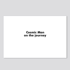 Cosmic Man on the journey Postcards (Package of 8)