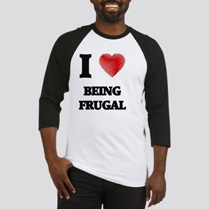 Being Frugal Baseball Jersey