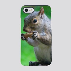 Squirrel Eating Peanut iPhone 8/7 Tough Case