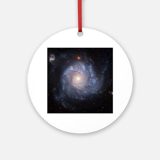 Spiral Galaxy (NGC 1309) Round Ornament