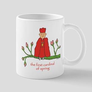 FIRST CARDINAL OF SPRING Mugs