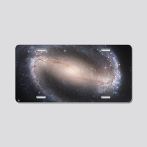 Barred Spiral Galaxy (NGC 1 Aluminum License Plate