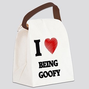 Being Goofy Canvas Lunch Bag