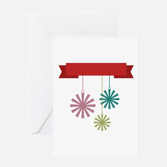 Christmas Ornaments Greeting Cards