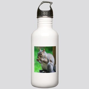 Squirrel Eating Peanut Stainless Water Bottle 1.0L