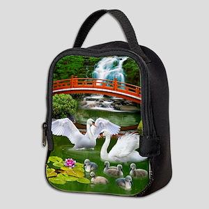 The Swan Family Neoprene Lunch Bag