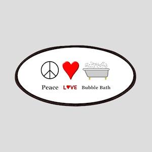 Peace Love Bubble Bath Patch