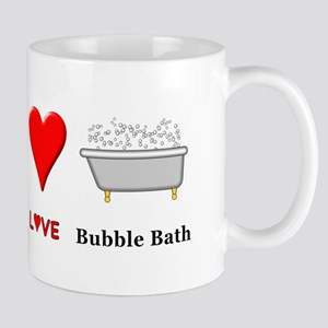 Peace Love Bubble Bath Mug