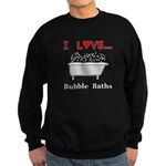 Love Bubble Baths Sweatshirt (dark)