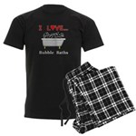 Love Bubble Baths Men's Dark Pajamas