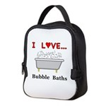 Love Bubble Baths Neoprene Lunch Bag