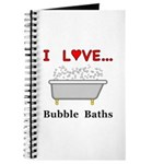 Love Bubble Baths Journal