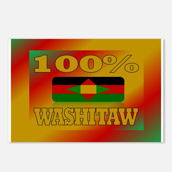 100% Washitaw Postcards (Package of 8)
