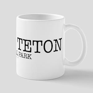 Grand Teton National Park GTNP Mug