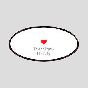 I love Transylvania Hounds Patch