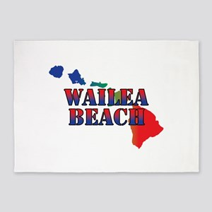 Wailea Hawaii 5'x7'Area Rug